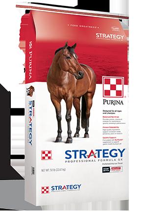 Purina Strategy Professional Formula GX Horse Food, 50-lb