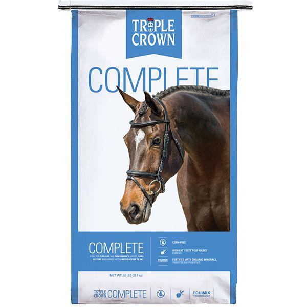 Triple Crown Complete Horse Food, 50-lb