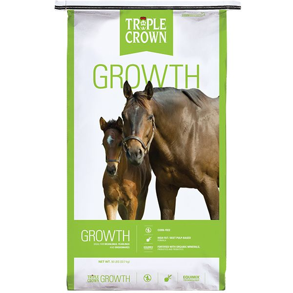 Triple Crown Growth Horse Food, 50-lb