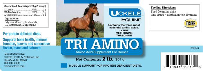 Uckele Equine Tri Amino Amino Acid Horse Supplement