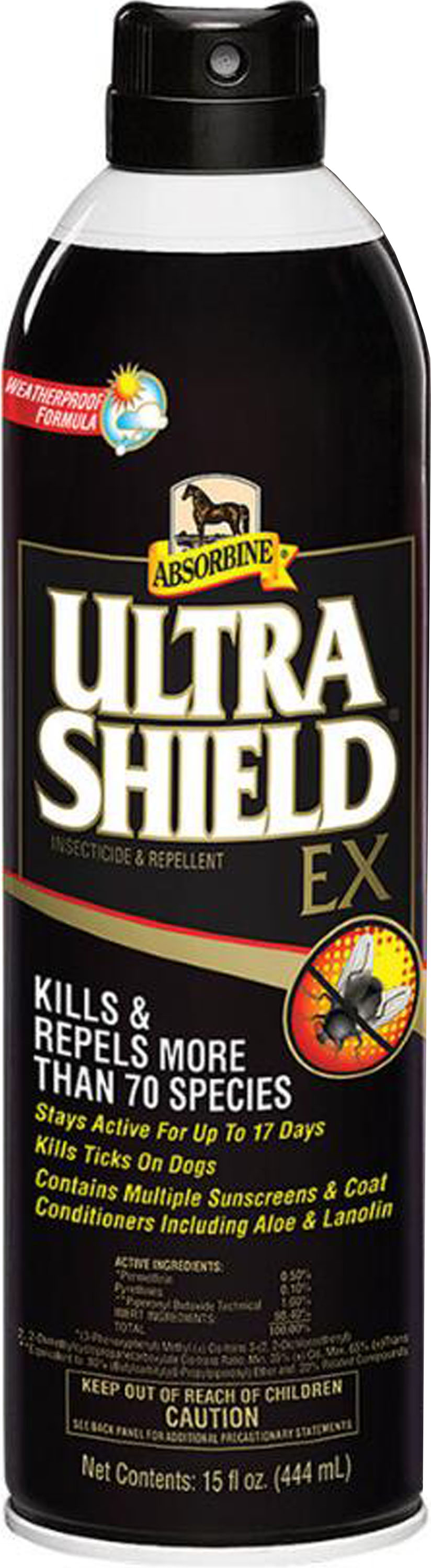 Absorbine Ultra Sheild Ex Insecticide & Repellent, 15-oz