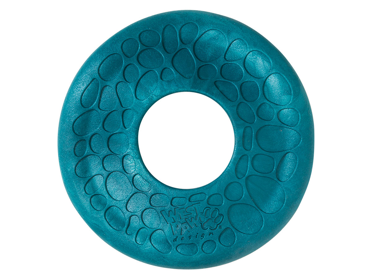 West Paw Zogoflex Air Dash Dog Toy, Peacock