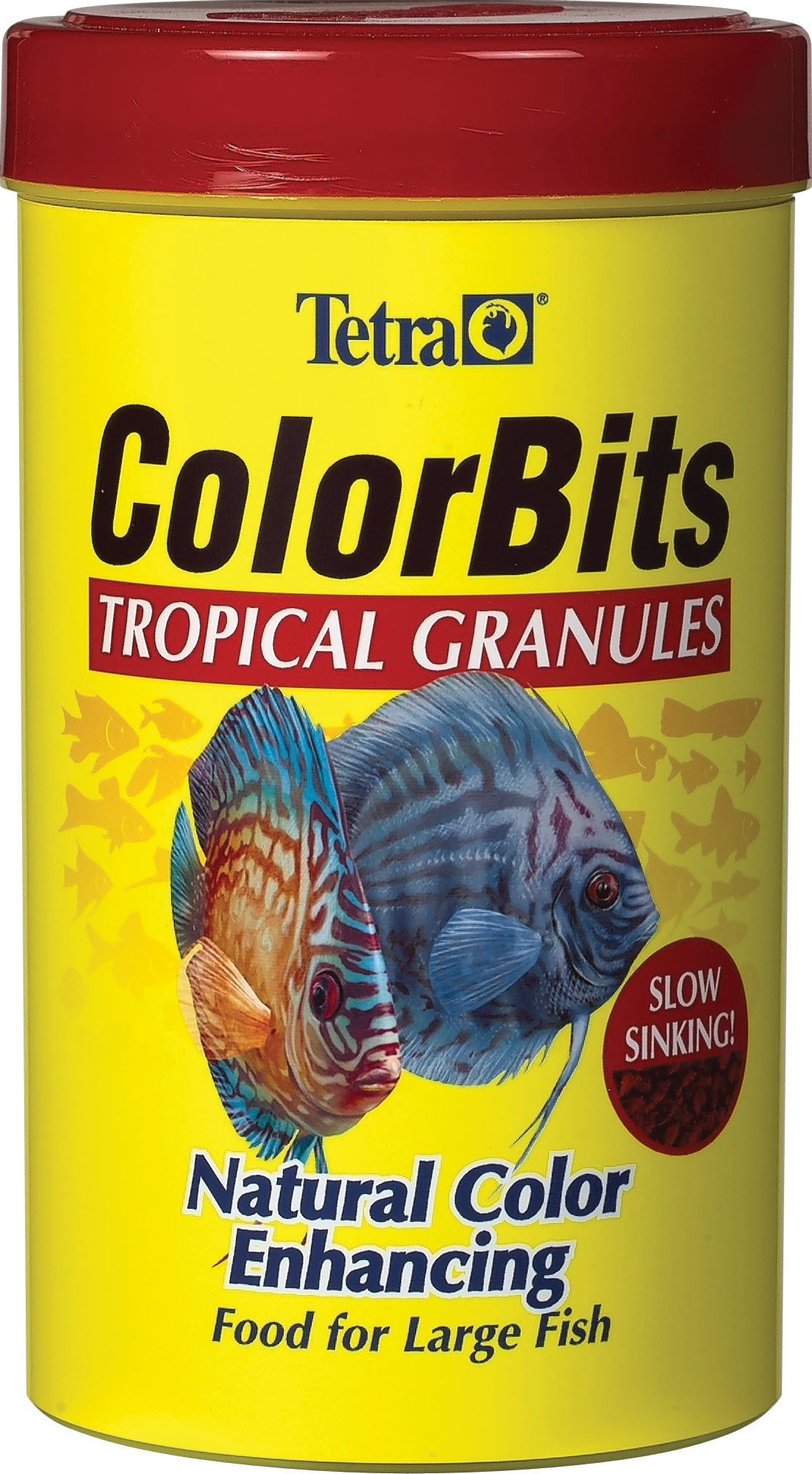 Tetra Color Tropical Granules Fish Food, 1.06-oz