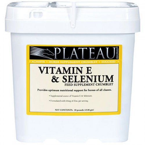 AniMed Plateau Vitamin E & Selenium Crumblet Horse Feed Supplement
