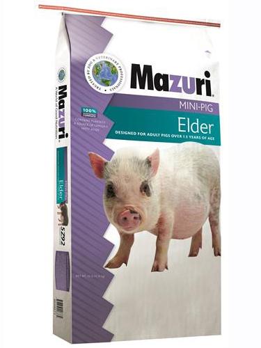 Mazuri Mini Pig Elder Pig Food, 25-lb