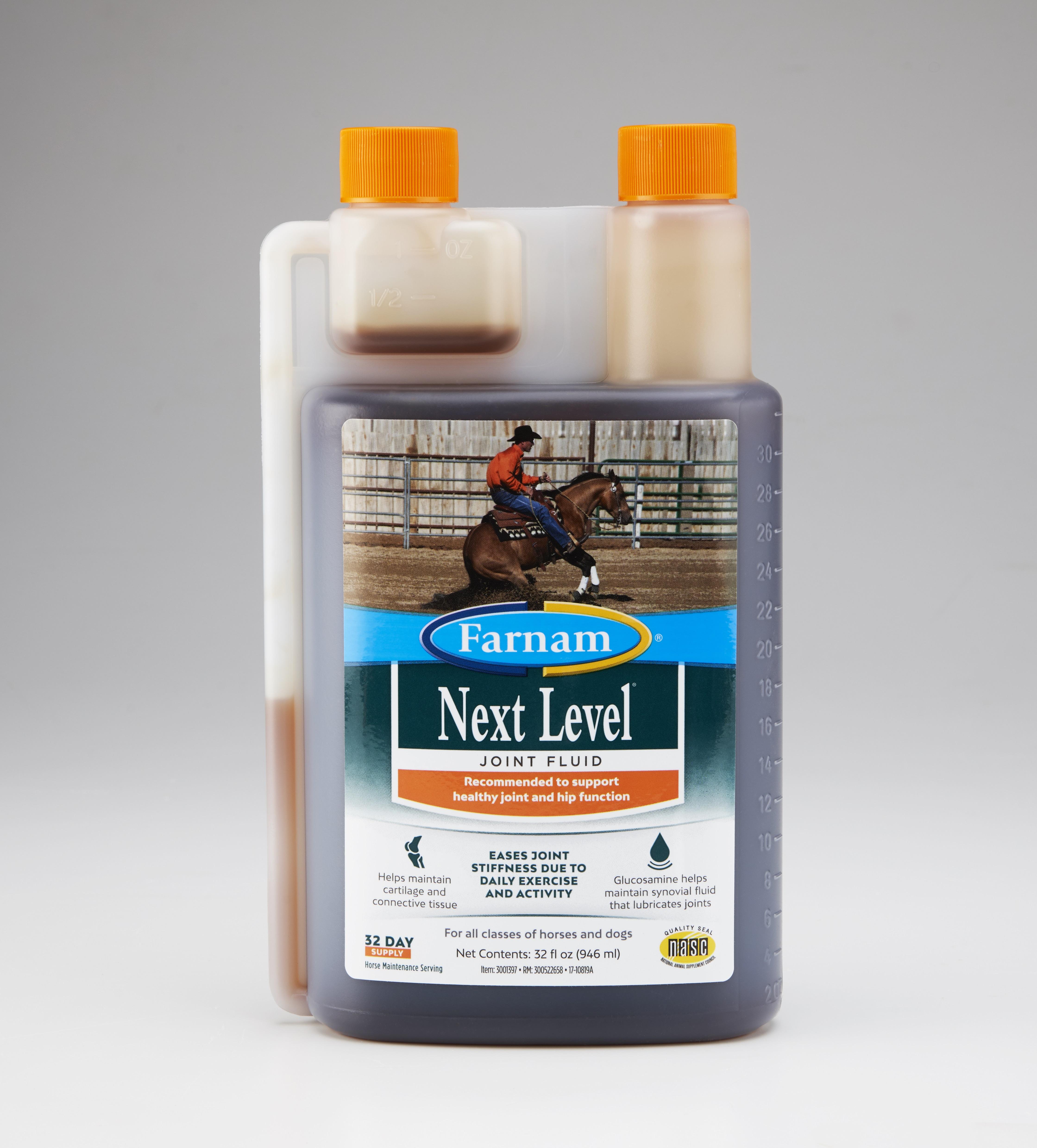 Farnam Next Level Joint Fluid Horse Supplement, 32-oz