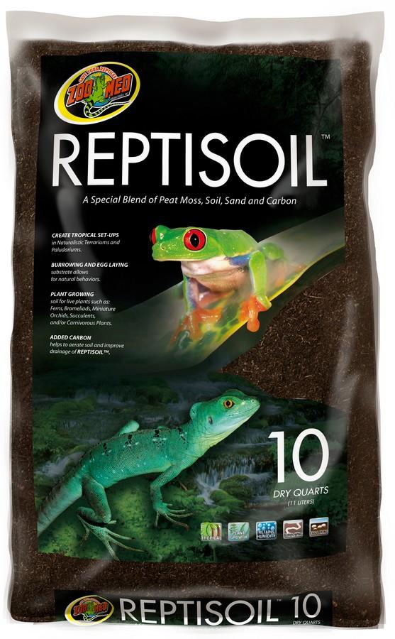 Zoo Med ReptiSoil Reptile Terrarium Substrate, 10-qt bag