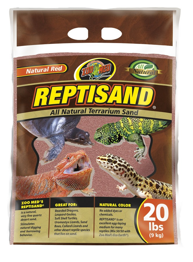 Zoo Med Reptisand Natural Terrarium Sand, 10-lb bag