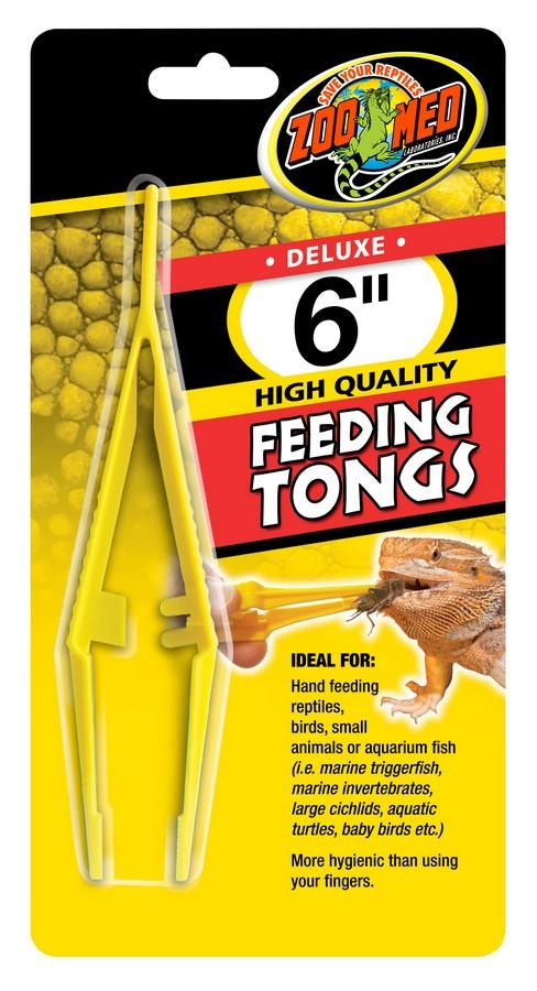 Zoo Med Feeding Tongs, 6-in