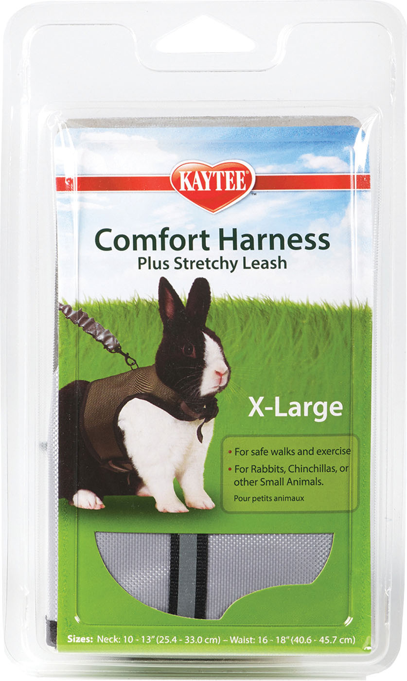 Kaytee Comfort Harness Plus Stretchy Leash Small Animal Harness, X-Large