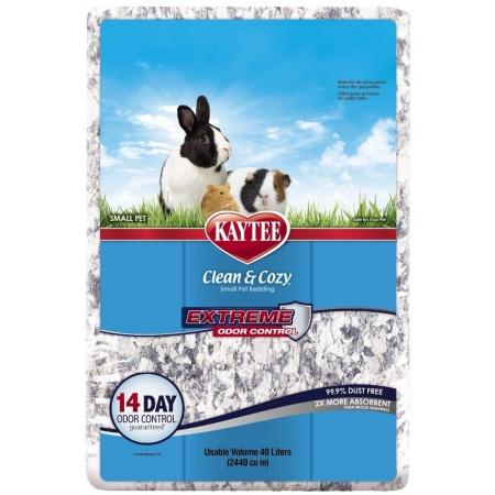 Kaytee Clean & Cozy Extreme Odor Control Small Animal Bedding, 40-L