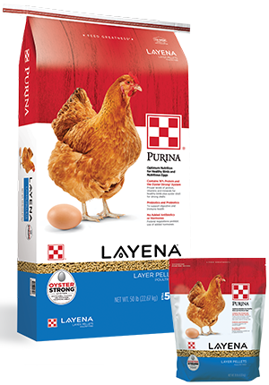 PurinaLayenaPellets Poultry Feed, 50-lb