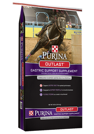 PurinaOutlastGastric Support Horse Supplement, 40-lb