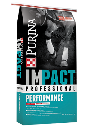 Purina Impact Professional Performance Horse Feed, 50-lb