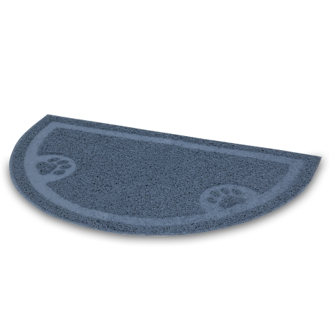 Petmate Litter Catcher Mat, 1/2 Circle, Waterfall