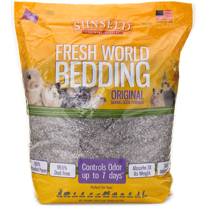 Sunseed Fresh World Bedding, 2130 cu in