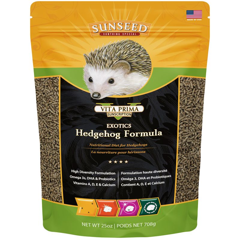 Sunseed Vita Prima Hedgehog Food, 25-oz bag