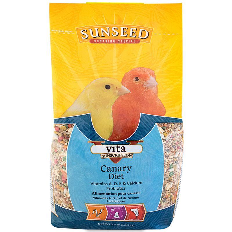 Sunseed Vita Canary Diet, 2.5-lb bag
