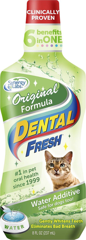 Dental Fresh Original Water Additive for Cats, 8-oz bottle