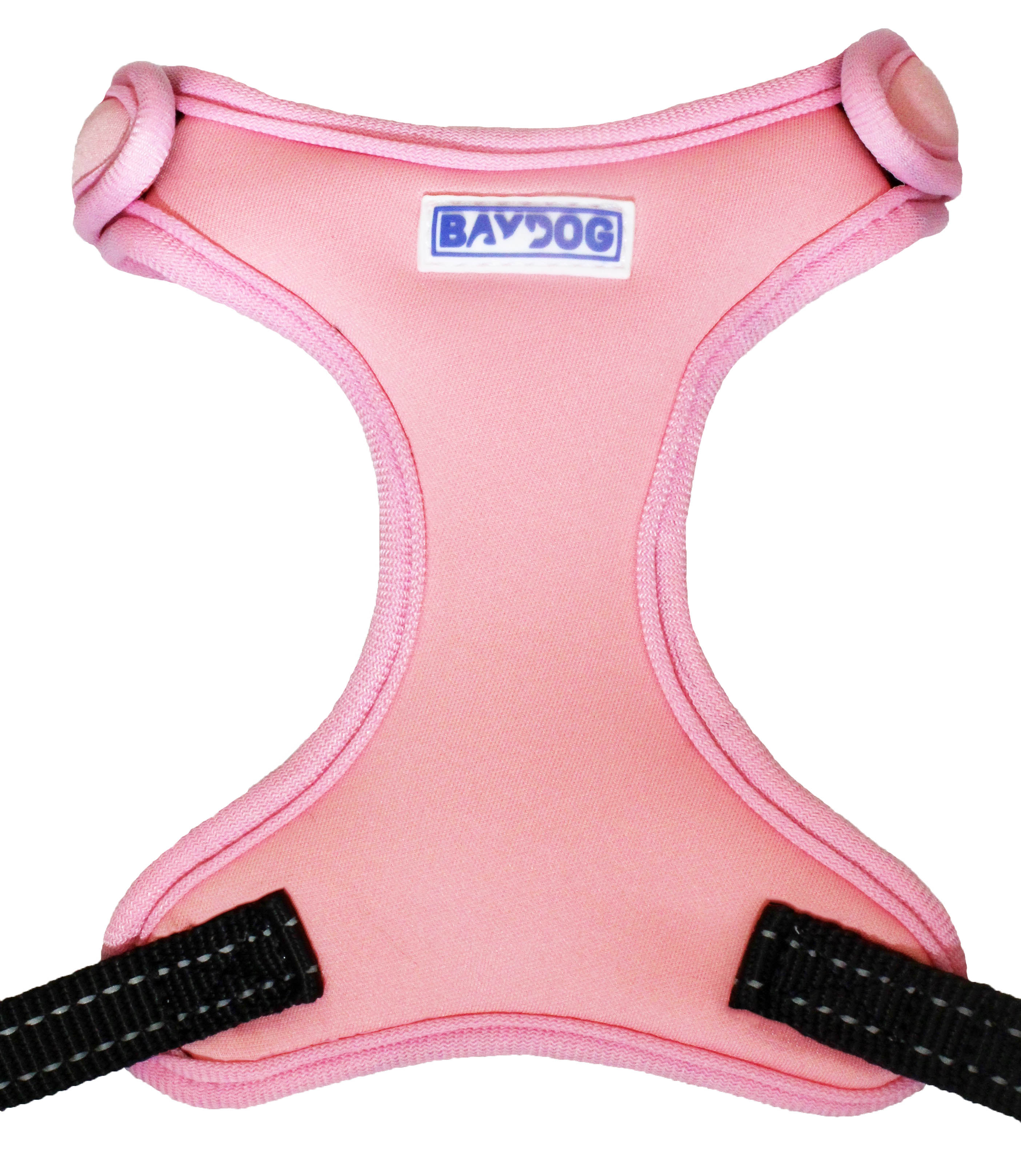 BayDog Cape Cod Harness for Dogs, Pink, Large