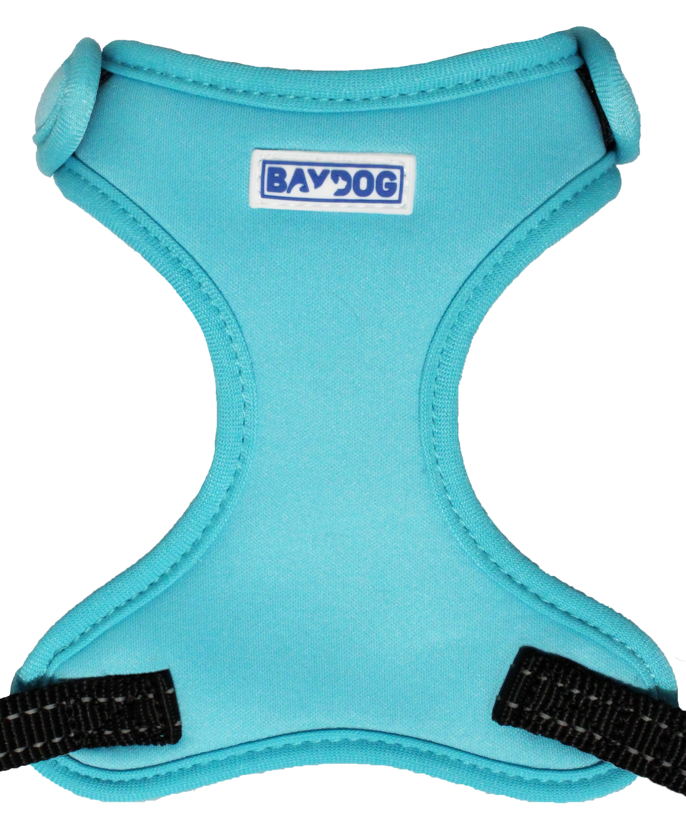 BayDog Cape Cod Harness for Dogs, Teal, Small