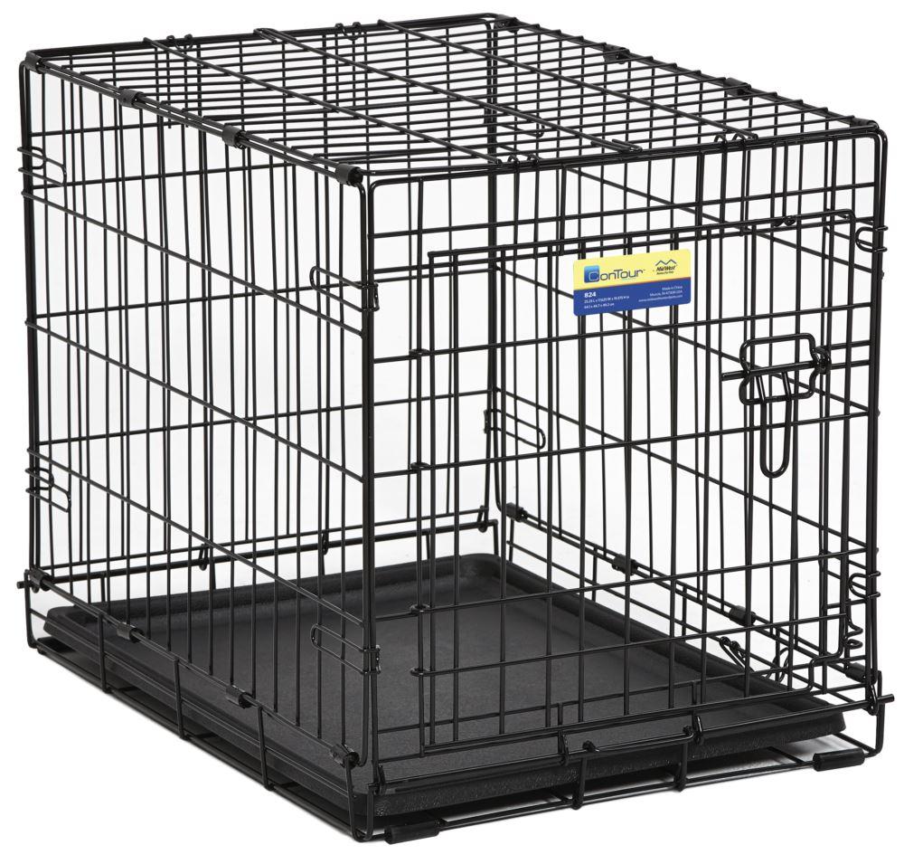 Midwest Crate Contour Single Door Dog Crate, 24