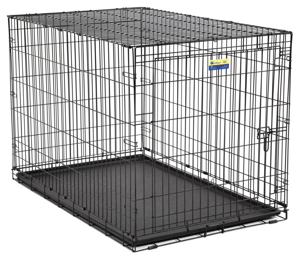 Midwest Crate Contour Single Door Dog Crate, 48