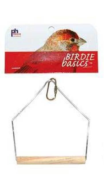 Prevue Pet Products Birdie Basics Hanging Wood Bird Swing