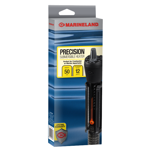 Marineland Precision Submersible Aquarium Heater, 50-watt