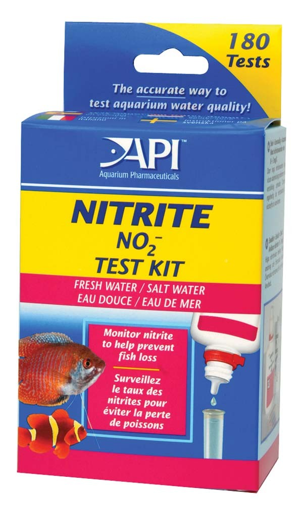 API Nitrite Test Kit for Freshwater and Saltwater Aquariums, 180 count