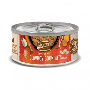 Merrick Classic Grain-Free Cowboy Cookout Small Breed Canned Dog Food, 3-oz