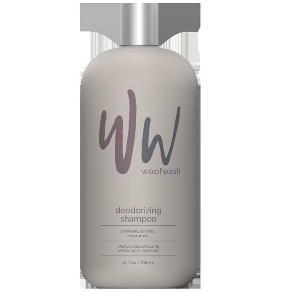 Woof Wash Deodorizing Shampoo for Pets, 24-oz