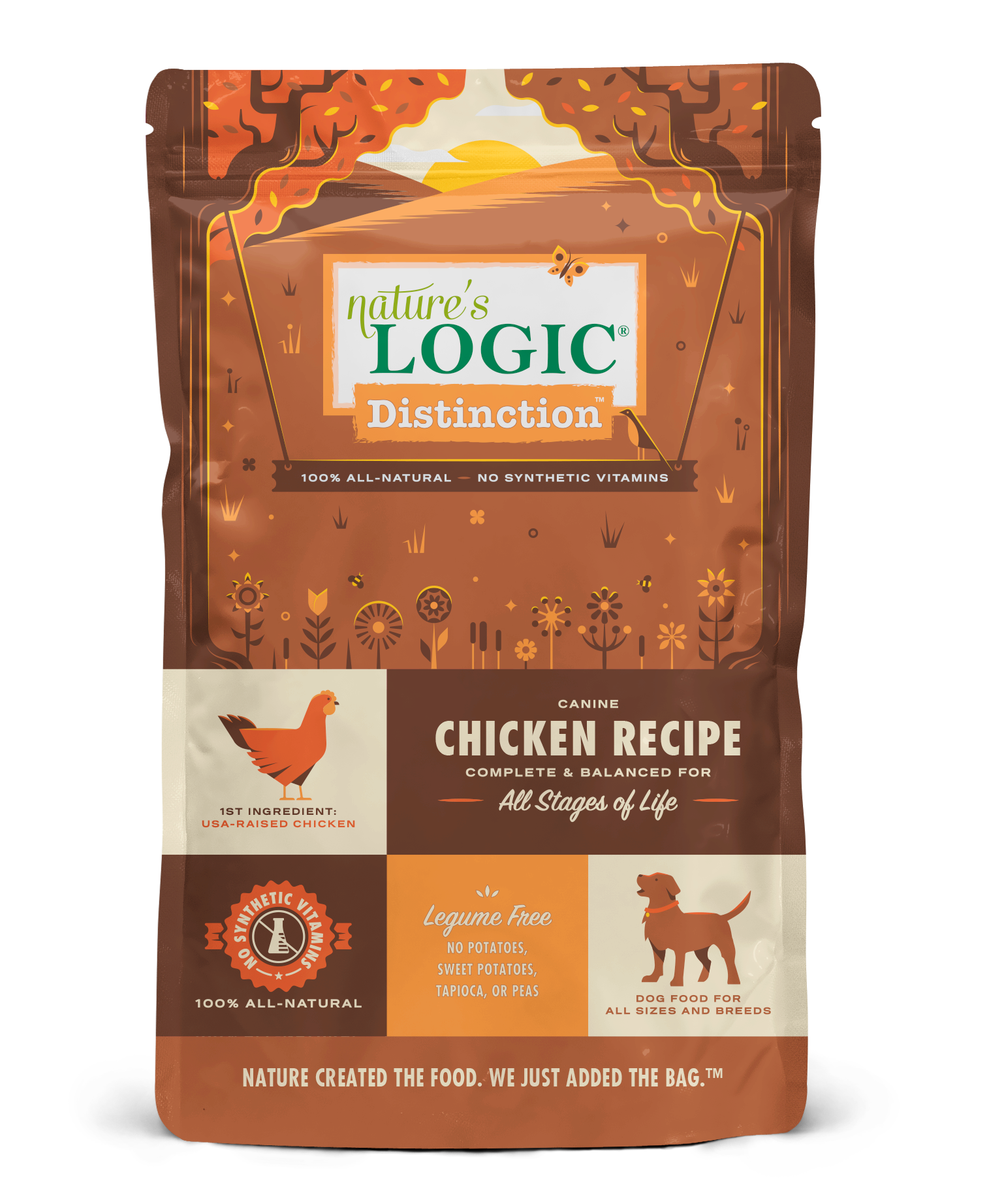 Nature's Logic Distinction Chicken Recipe Dog Food, 24-lb