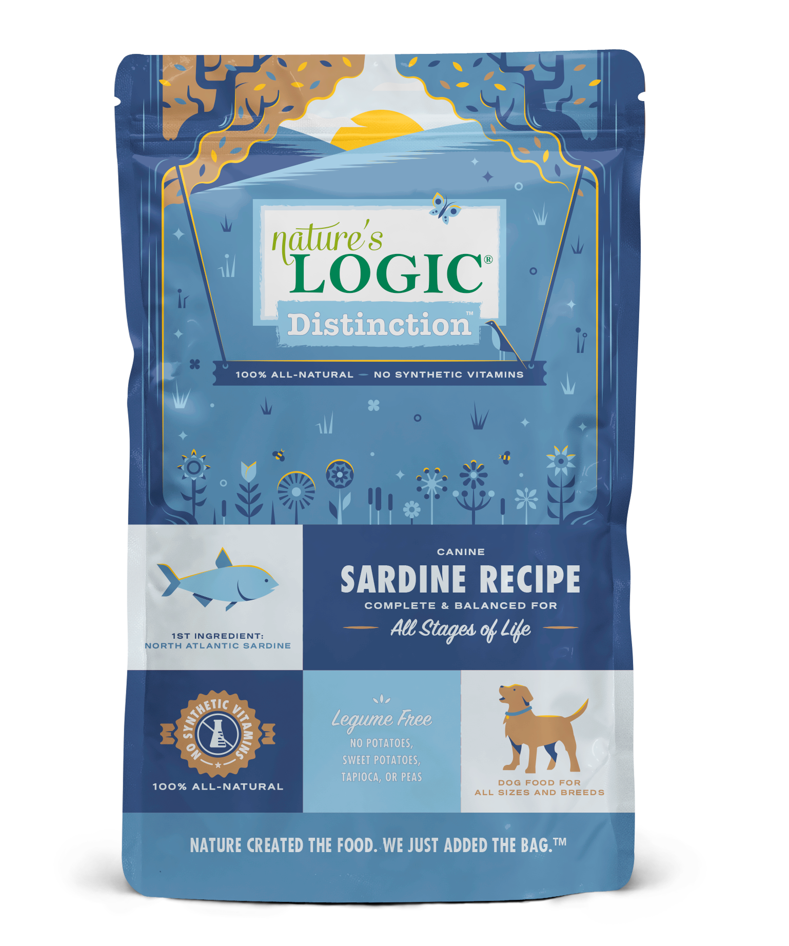 Nature's Logic Distinction Sardine Recipe Dog Food, 12-lb