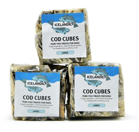 Icelandic+ Cod Cubes Dog Treat, Large