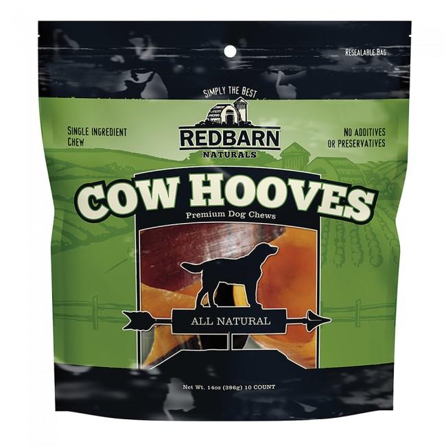 Redbarn Natural Cow Hooves Dog Treat, 10 pack
