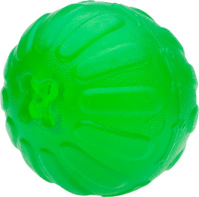 Starmark Treat Dispensing Chew Ball Dog Toy, Medium