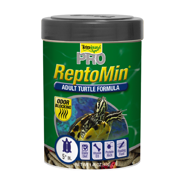 Tetrafauna ReptoMin PRO Adult Turtle Food, 8.11-oz