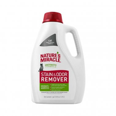 Nature's Miracle Just For Cats Stain & Odor Remover, 128-oz pour bottle