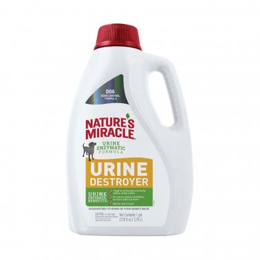 Nature's Miracle Dog Urine Destroyer, 128-oz pour bottle