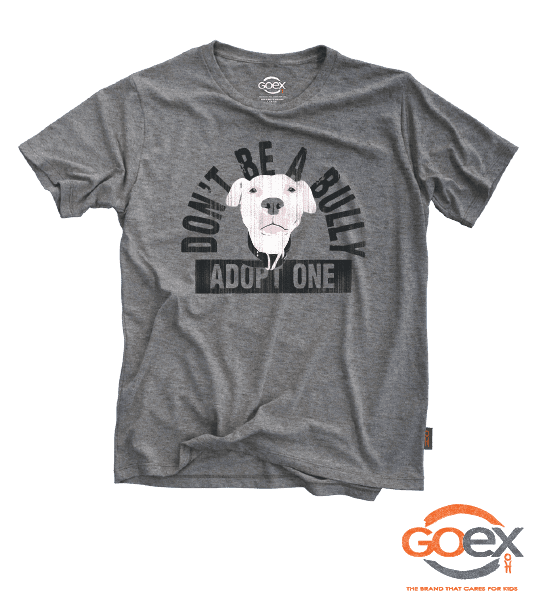 Republic of Paws Don't Be A Bully T-Shirt, Short Sleeve, X-Small