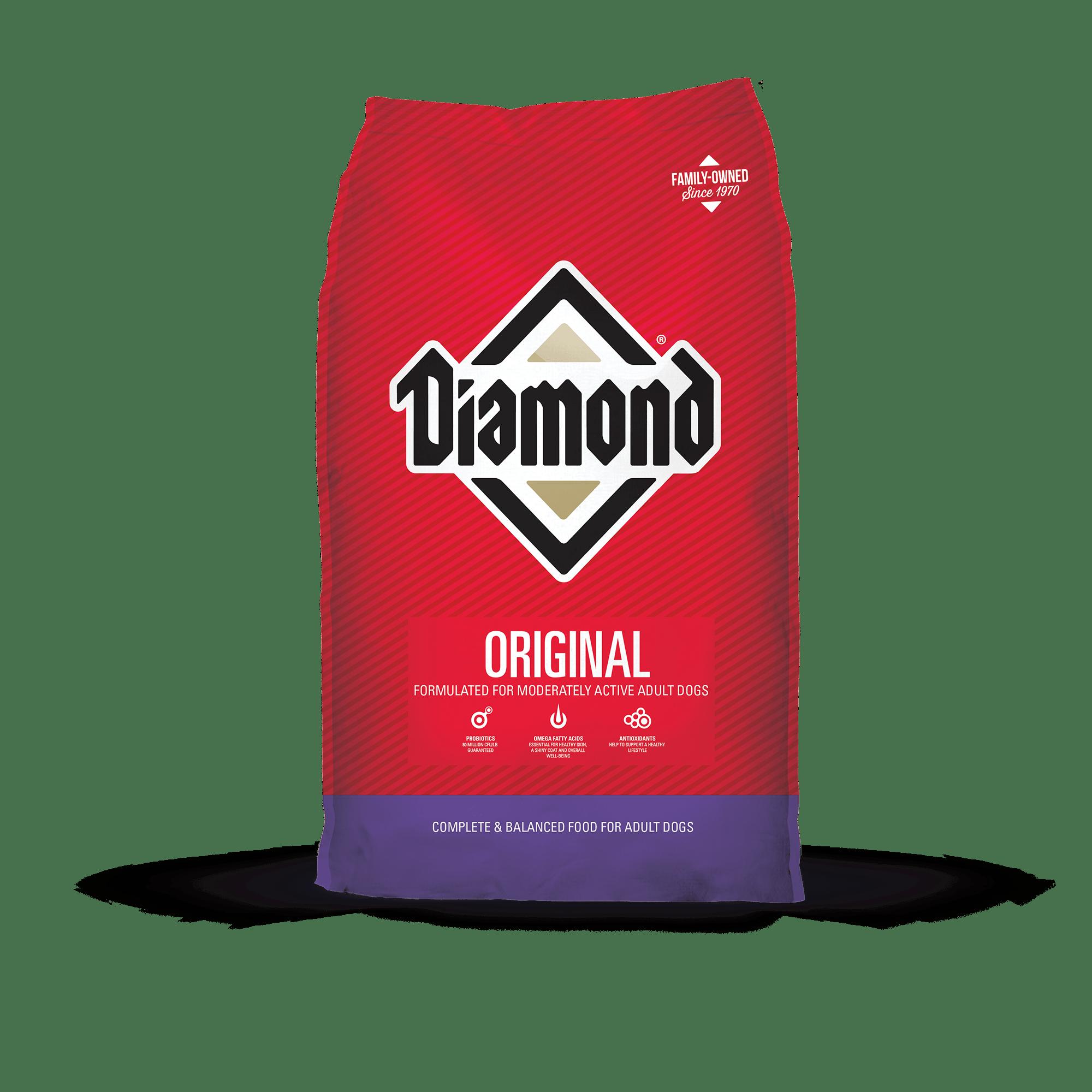 Diamond Original Adult Dry Dog Food, 50-lb bag