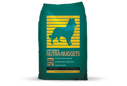 Nutra Nuggets by Diamond Lamb Meal & Rice Dry Dog Food, 40-lb bag