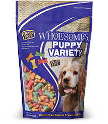Sportmix Wholesomes Puppy Variety Biscuit Dog Treats, 20-lb bag