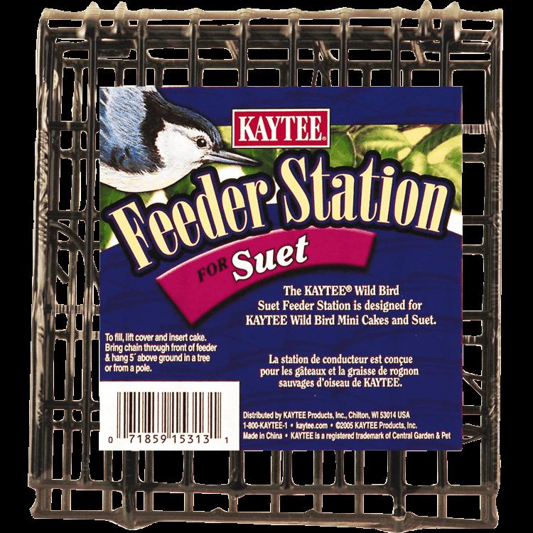 Kaytee Wild Bird Suet Feeder Station