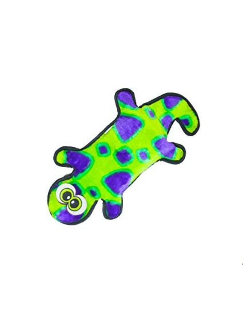 Outward Hound Invincibles Geckos Squeak Dog Toy, Yellow/Green, Small