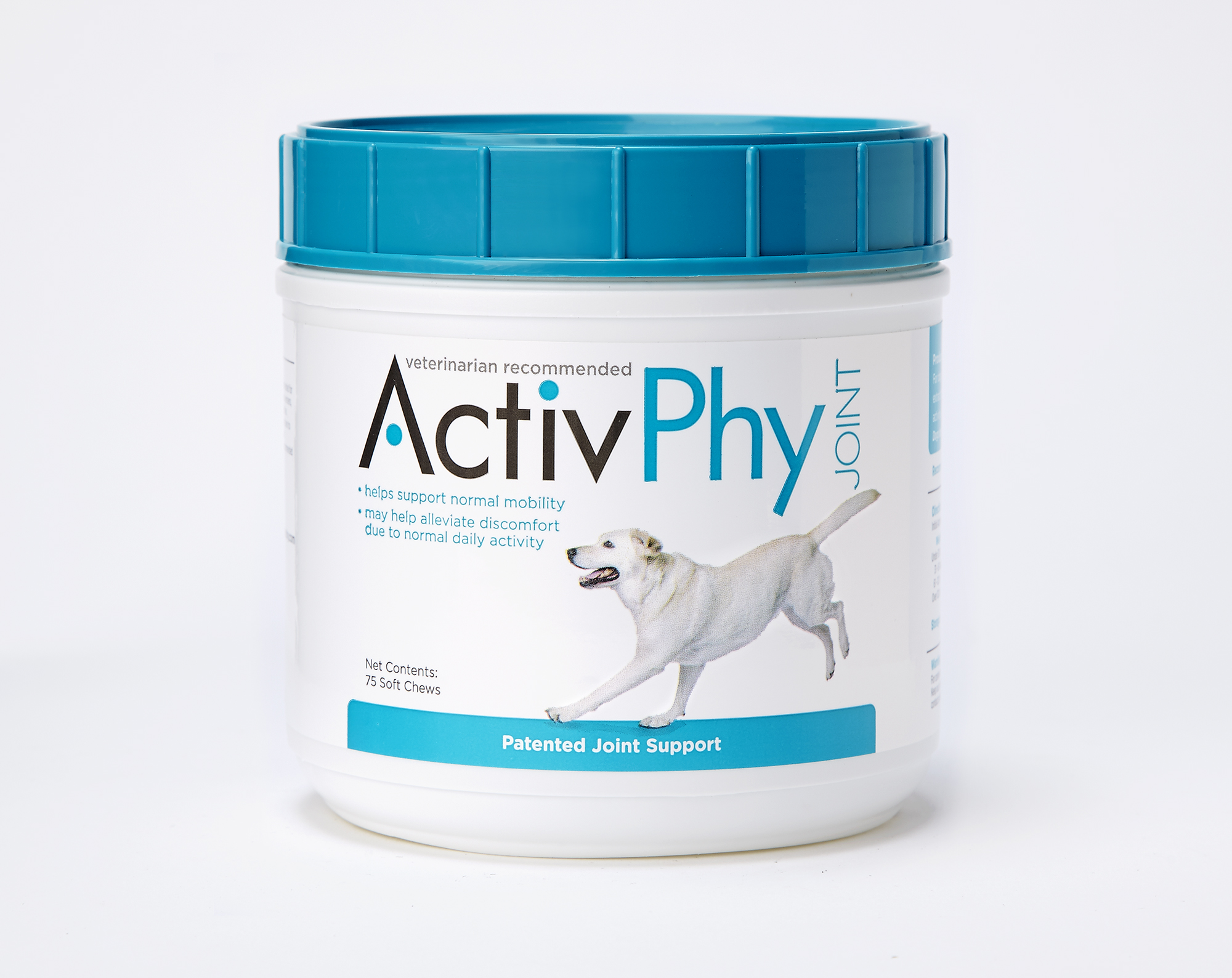 ActivPhy Regular Chews Joint Supplement for Dogs, 75-count