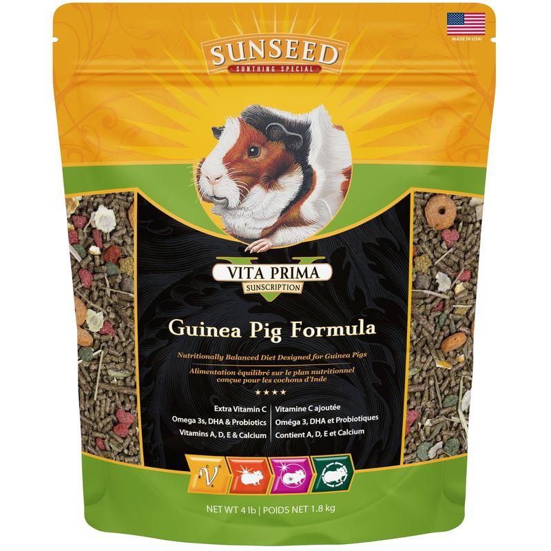 Sunseed Vita Prima Guinea Pig Formula, 4-lb bag