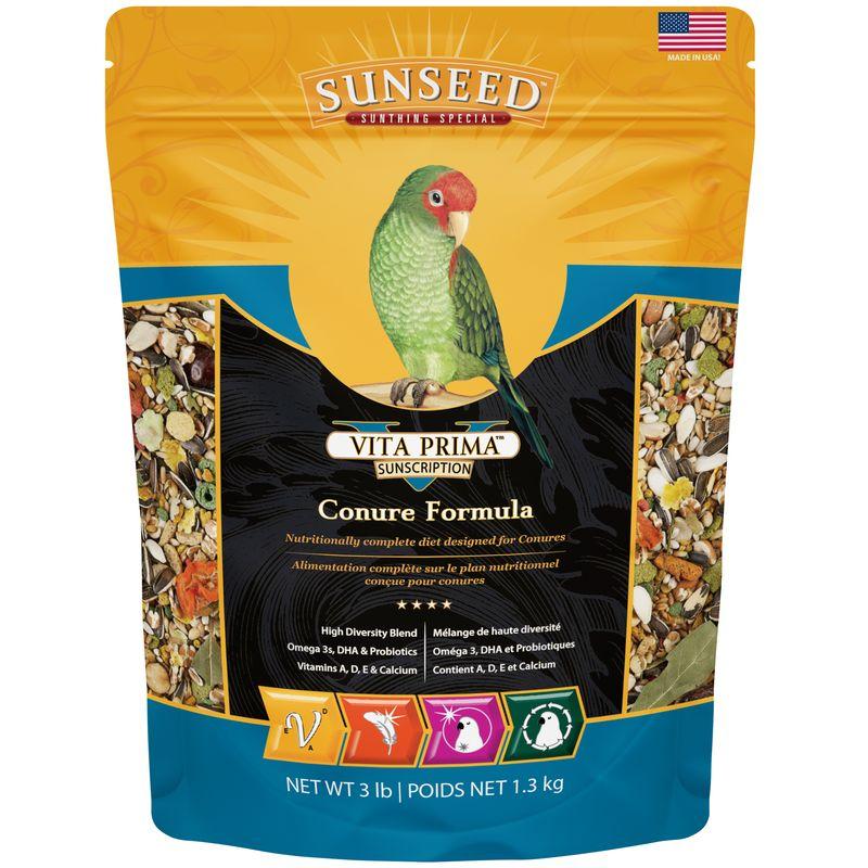Sunseed Vita Prima Conure Food, 3-lb bag