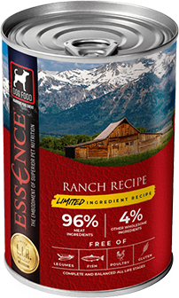 Essence LIR Ranch Recipe Wet Dog Food, 13-oz